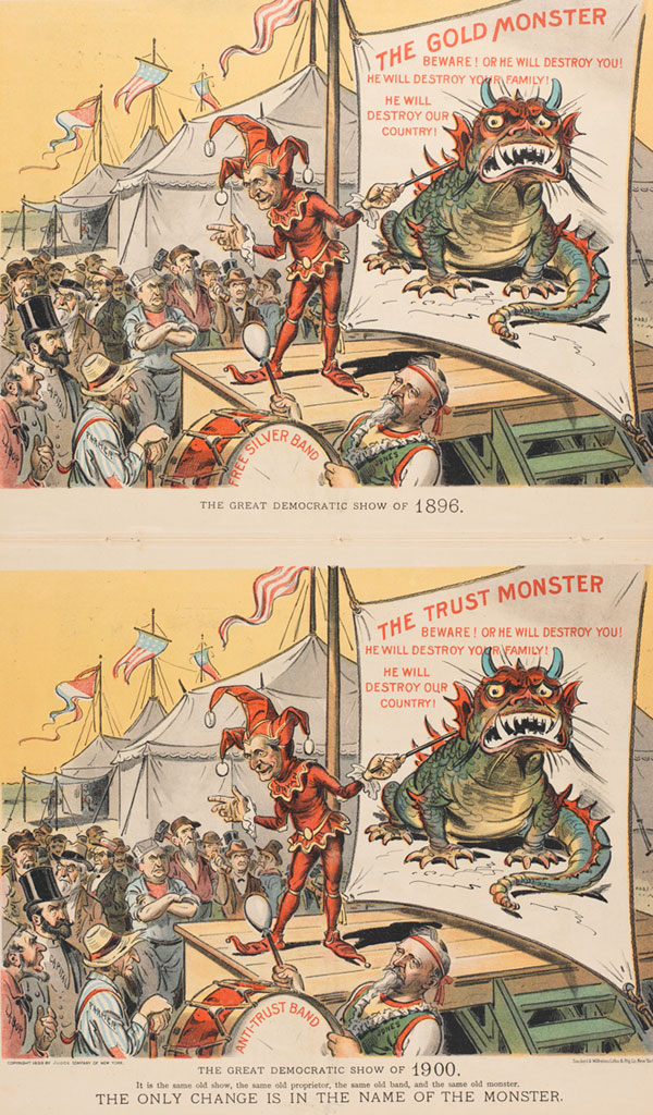 The Great Democratic Show of 1896/1900