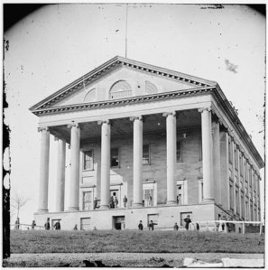 Richmond, Va. Front view of Capitol