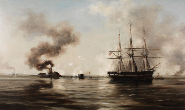 The Battle Between the Monitor and the Merrimac