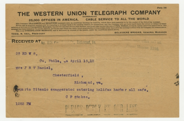 Mss2 D2235 b, Telegram 2 of 8