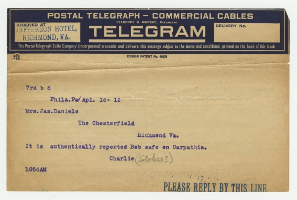 Mss2 D2235 b, Telegram 3 of 8