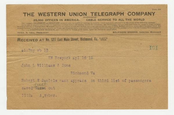 Mss2 D2235 b, Telegram 5 of 8