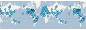 There are nearly 50,000 educators from more than 200 countries who participate in Skype in the Classroom.
