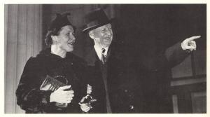 "Hoffbauer and his wife Henrietta in Richmond"" Virginia Historical Society; ND237.H665 G9"