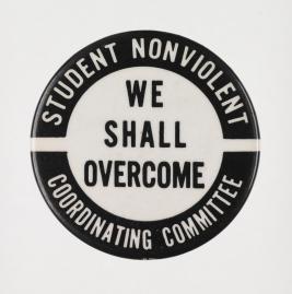 SNCC Political Button, c. 1963
