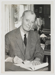 E. F. Conger (1887-1974) in his Staunton, Va., office.