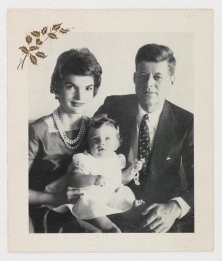 Christmas card from the Kennedy family to Ralph Catterall