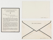 Verso of bereavement card (Virginia Historical Society, Accession no. .2002.509.32.1-3)