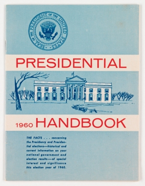 1960 Presidential Handbook (Virginia Historical Society, Accession no. 2001.509.1)