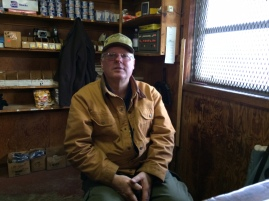 One of Virginia's voices, former school principal Danny Crockett, now runs the general store on Tangier Island.