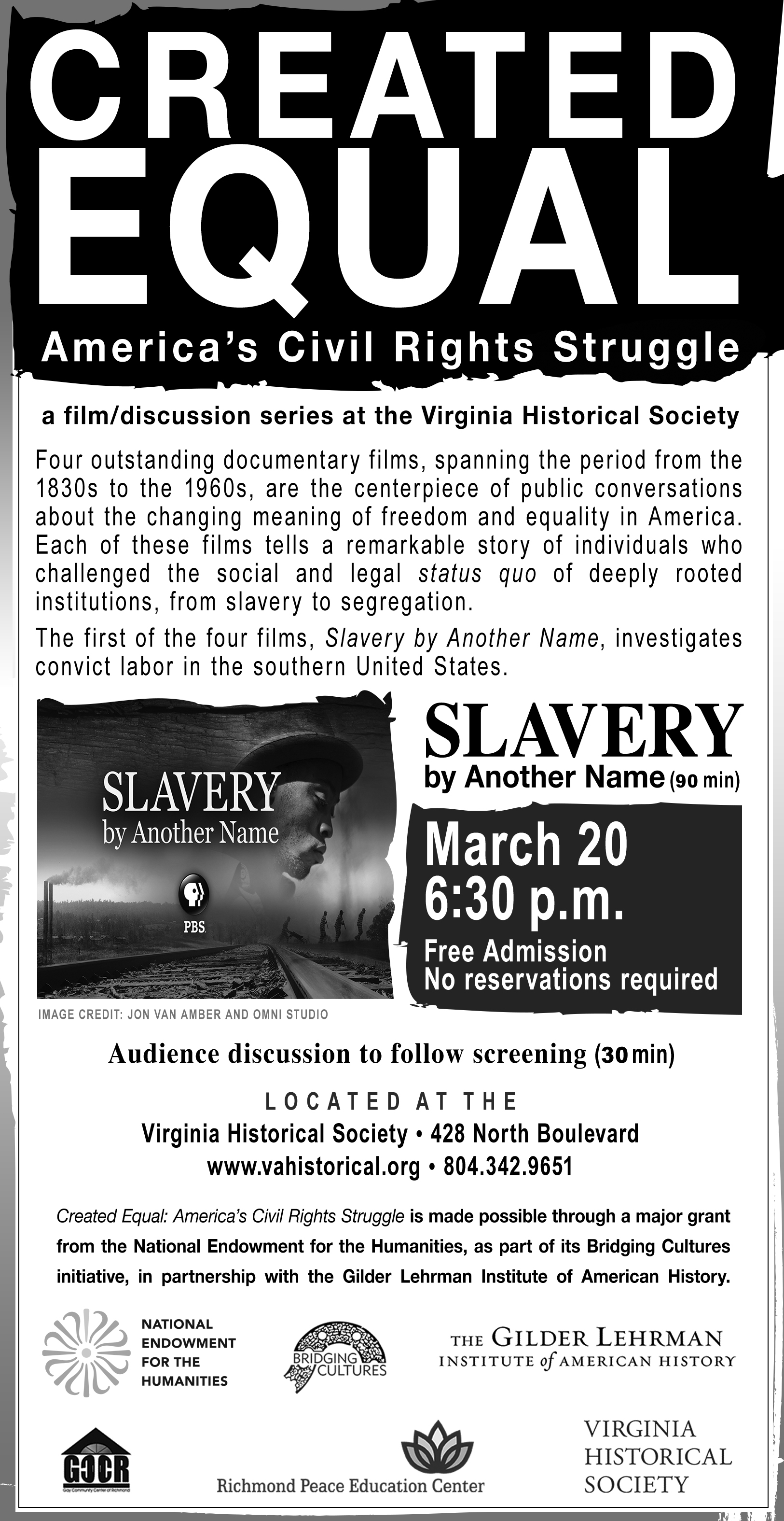 Created Equal: Slavery By Another Name