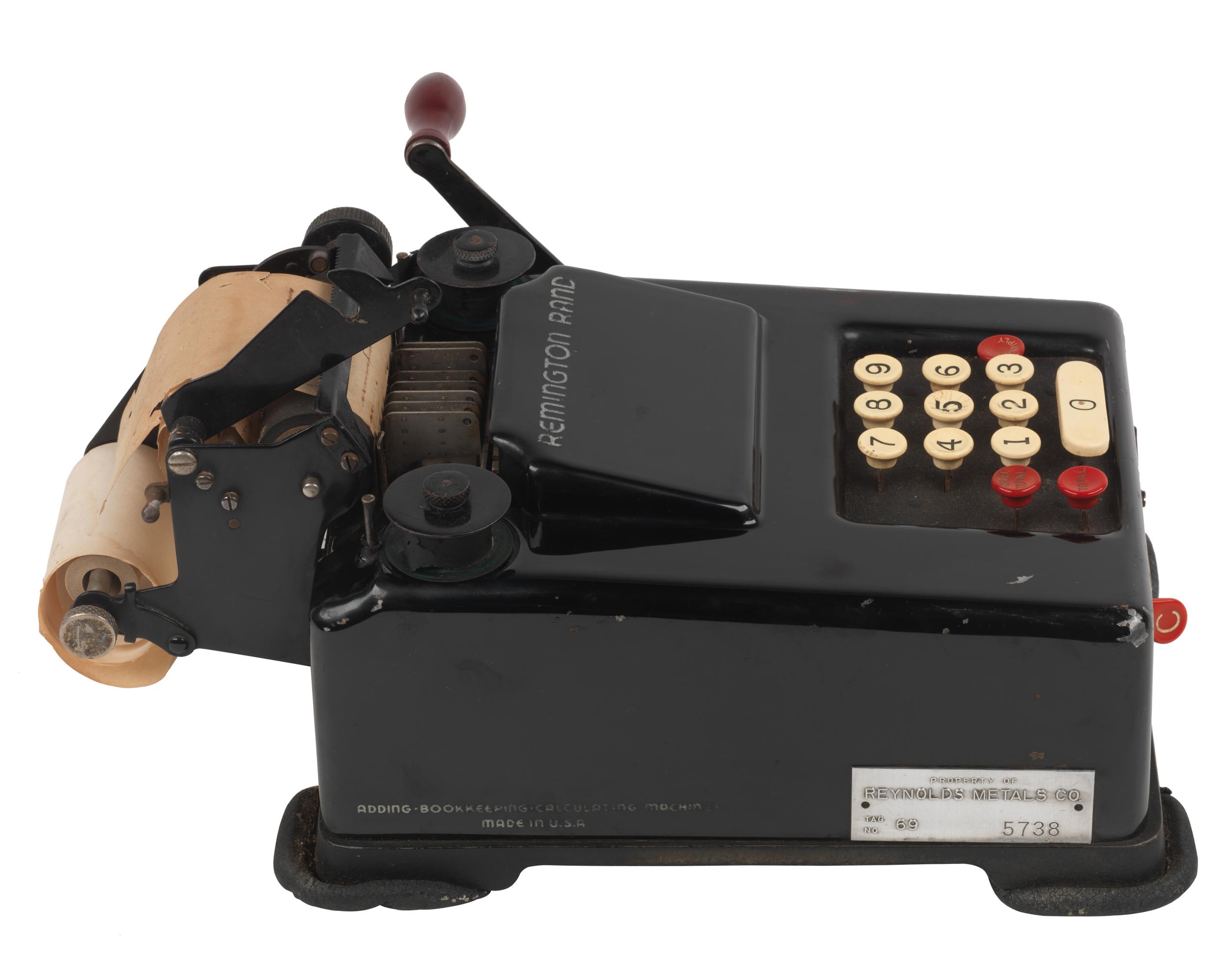 Remington calculator in antique cash registers & adding machines.