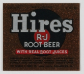 Hires R-JJ Root Beer Label (VHS call number: Mss1 R3395a)
