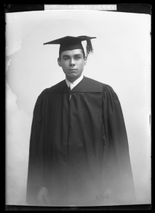 Leon M. Bazile graduated from Richmond College (now the University of Richmond) in 1910. (Virginia Historical Society, 1991.1.1652)