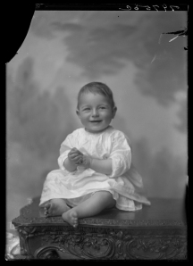 """The problem"" that haunted Leon and Virginia largely revolved around the raising of their future children.  Pictured here is their daughter Virginia Lee Bazile in 1921.  (Virginia Historical Society, 1991.1.1654)"