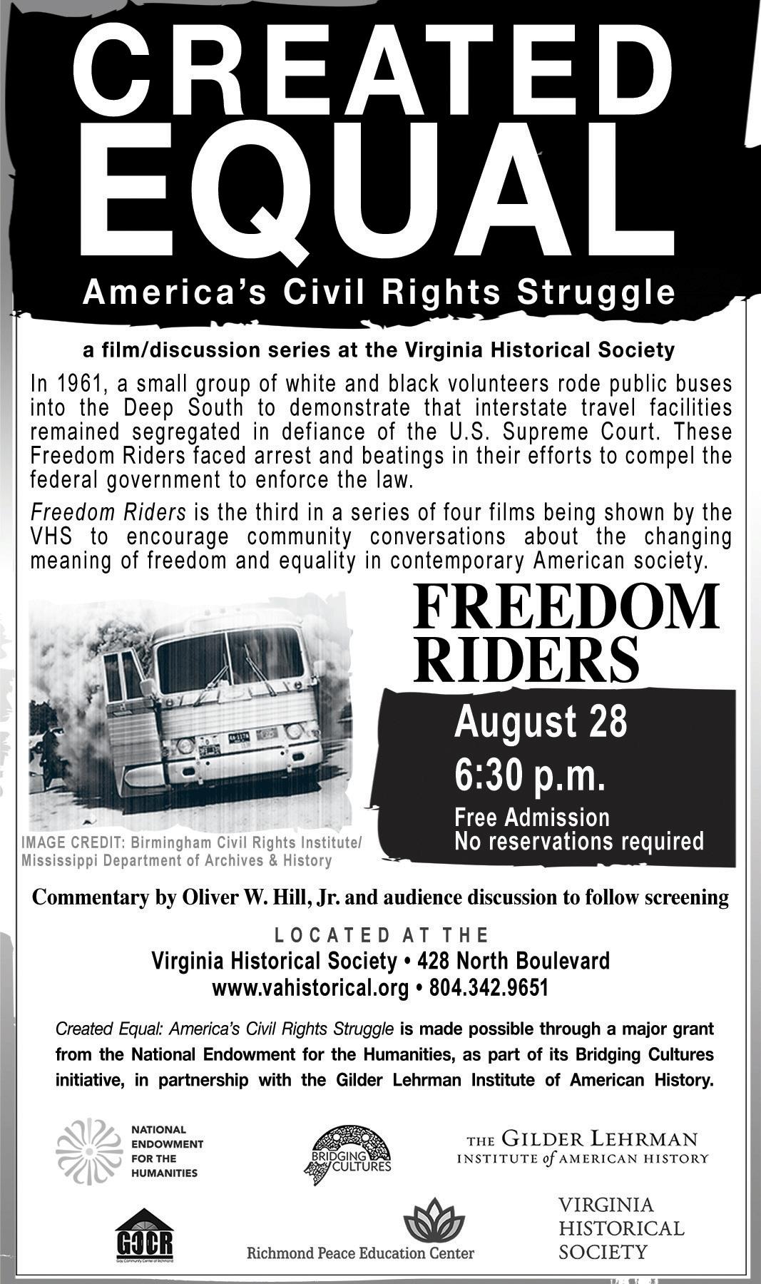Four Riders Movie Createdequal Freedomriders