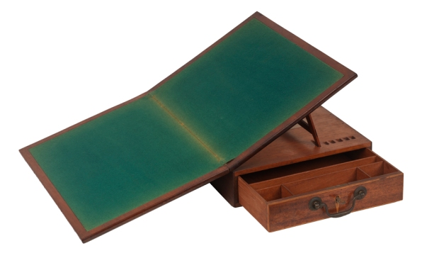 Reproduction of Thomas Jefferson's writing desk (Virginia Historical Society, 1956.1)