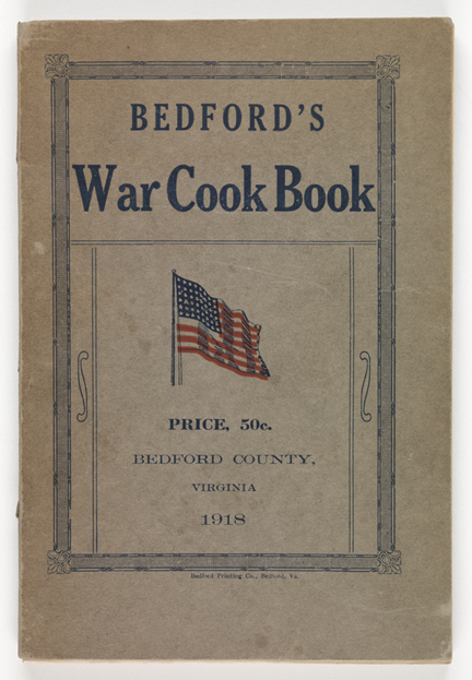 Bedford's War Cook Book