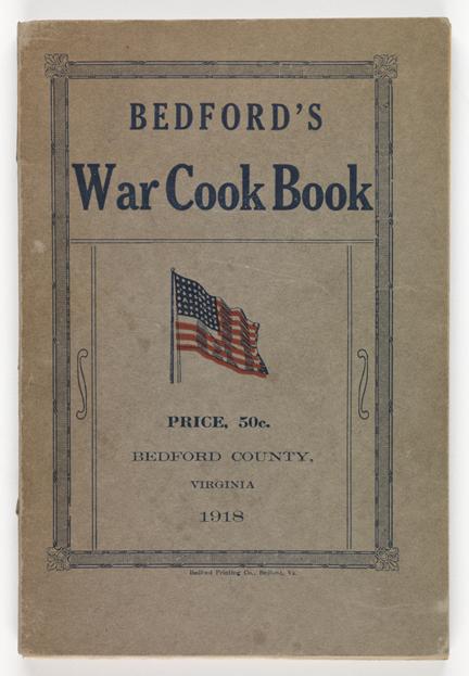 Bedford's War Cook Book