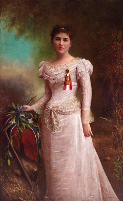 Portrait of Varina Anne (Winnie) Davis. (VHS accession number: 1946.219)