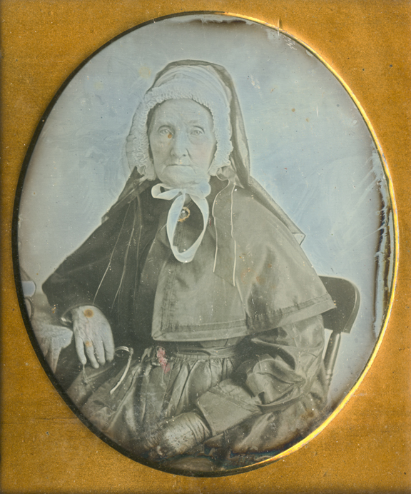 Martha Fletcher Hardaway Shore, whose first husband purportedly died in a duel. VHS Museum Collection, Accession Number 2001.42.18