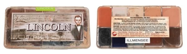 Lincoln make-up palette