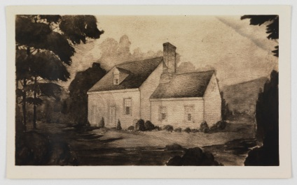 Sketch of Philip Mazzei's House