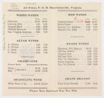 Monticello Wine Company Brochure