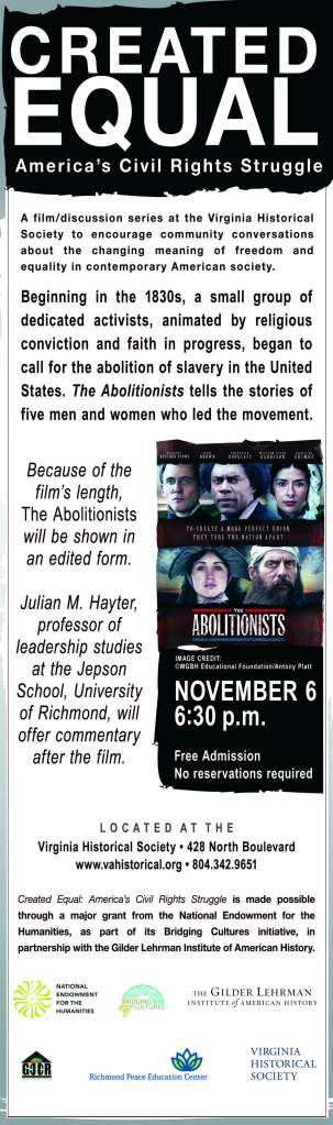 Created Equal - The Abolitionists