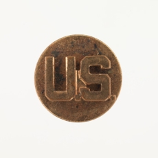 Collar pin from the Army worn by Oliver W. Hill, Sr. on his WWII uniform. (Virginia Historical Society, Accession number: 2014.79.14)