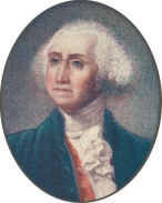 Detail from a print of George Washington (Virginia Historical Society, Accession number: 2001.200.160)