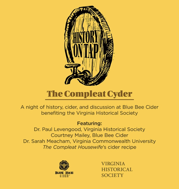 History on Tap:  The Compleat Cyder