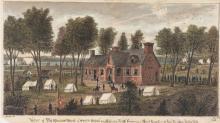 """""""Battle of Malvern Hill, Va., 1 July 1862,"""" Robert Knox Sneden."""