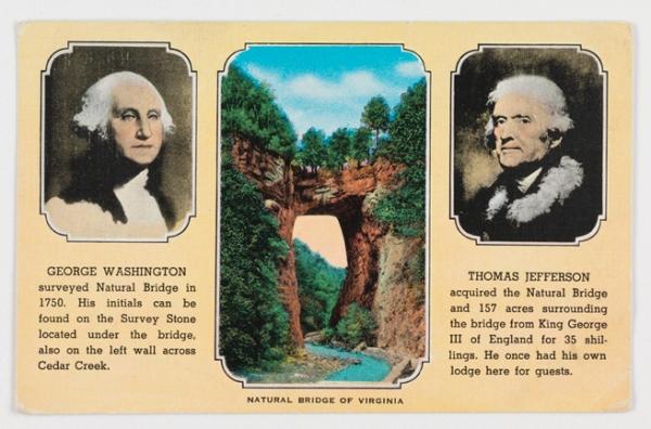 Postcard.NaturalBridge