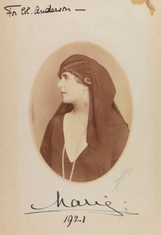 Queen Marie Of Roumania