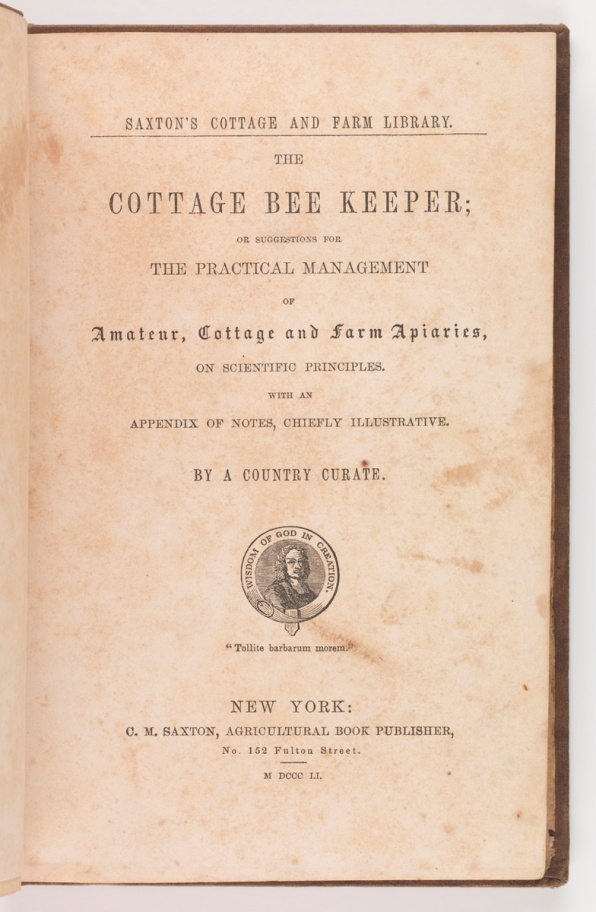 The cottage bee keeper