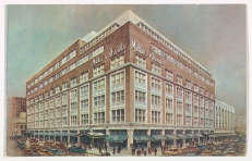 A Postcard showing the Richmond Miller & Rhoads store, located at the intersection of 6th and Broad Street (Virginia Historical Society, 1999.66.5)