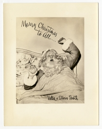An advertisement for Legendary Santa (Virginia Historical Society, 1994.125.1159)