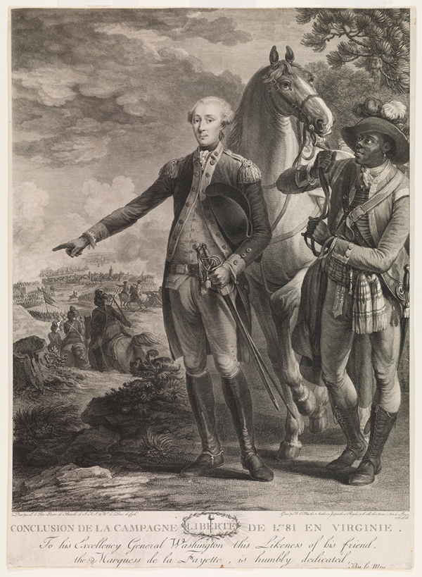Lafayette and Body Servant James, 1993.178