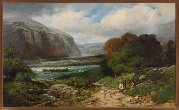 2013.86.5; Near Harper's Ferry by Andrew Melrose