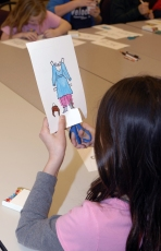Stories at the Museum crafts - paper dolls