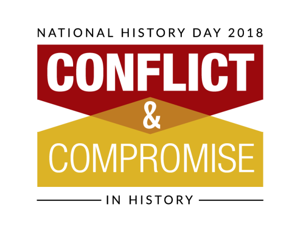 NHD 2018 Conflict & Compromise in History logo